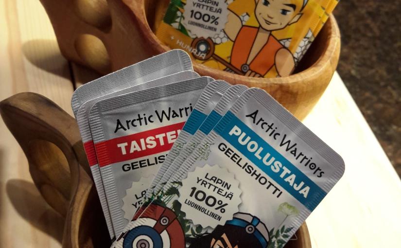 Blogissa Arctic Warriorsin tuotepakettiarvonta!