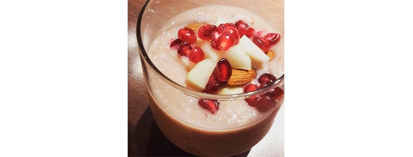 Makea (maidoton) hedelmäsmoothie