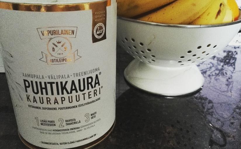 Kuulumisia keittiöstä: testissä kaurapuuteriPuhtikaura