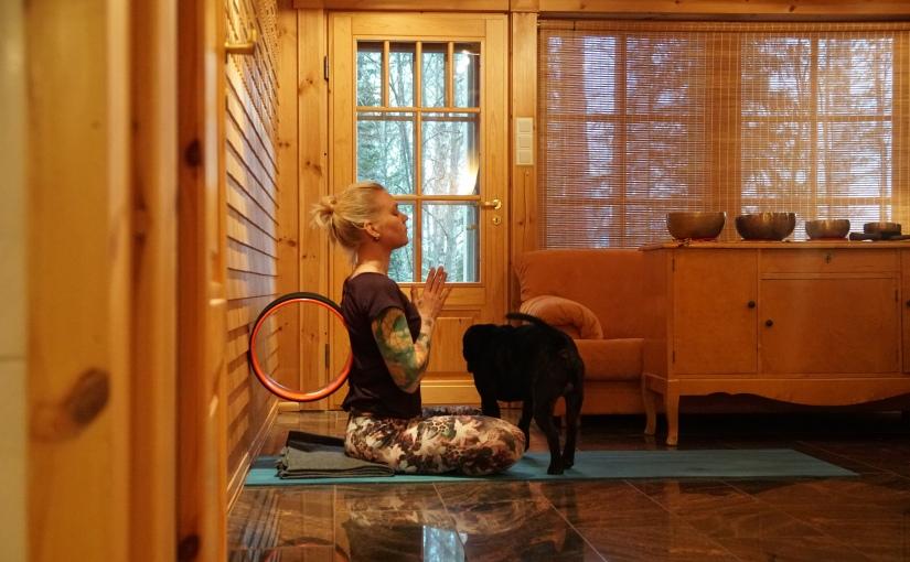 *Blogiyhteistyössä Lumi Yoga Wheel: Vinkkejärullailuun